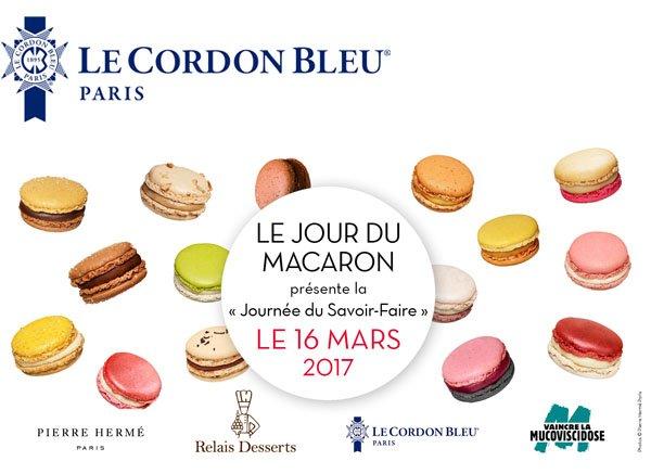 Jour du macaron Pierre Hermé Relais Desserts Le Cordon Bleu Paris