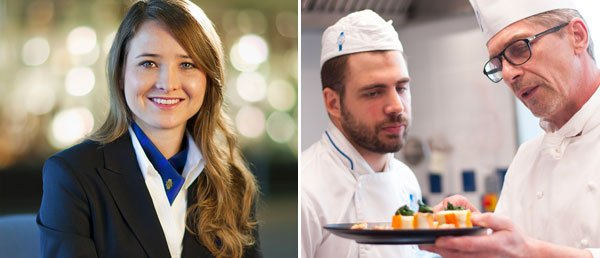 Bachelor manager Hôtellerie internationale Arts Culinaires