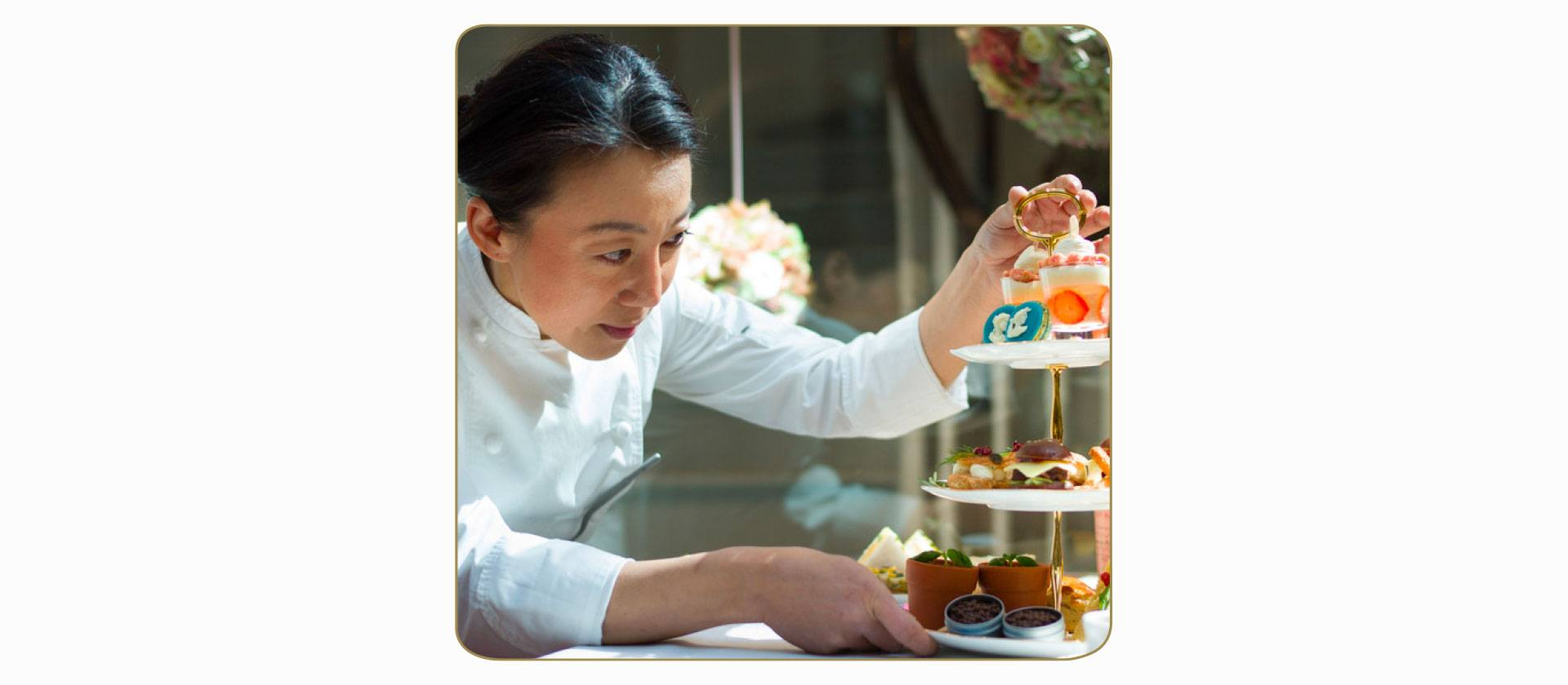 Hideko Kawa (UK) owner and pastry consultant at The Sweet Art Lab.