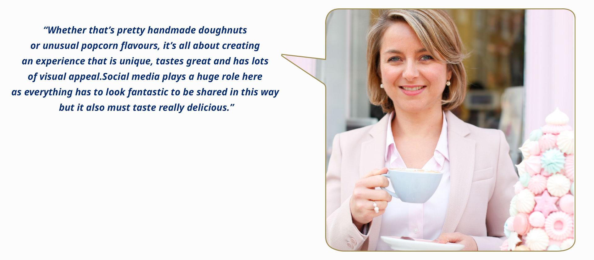Peggy Porschen (UK), founder and creative director at Peggy Porschen Cakes