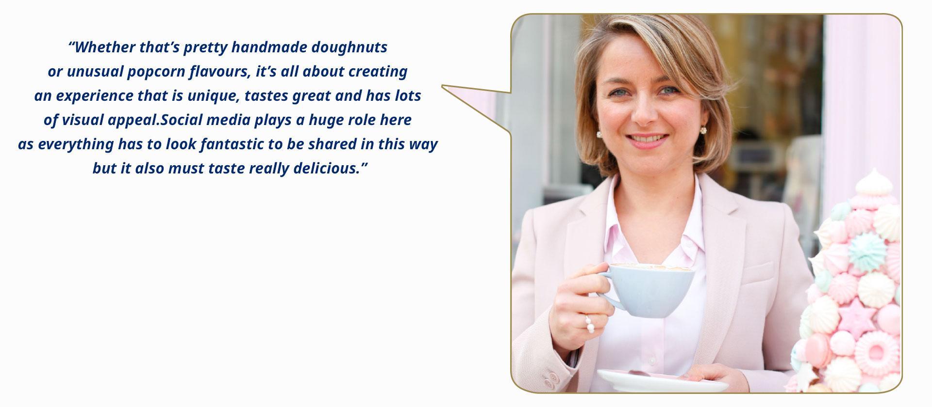 Peggy Porschen (UK), founder and creative director at Peggy Porschen Cakes