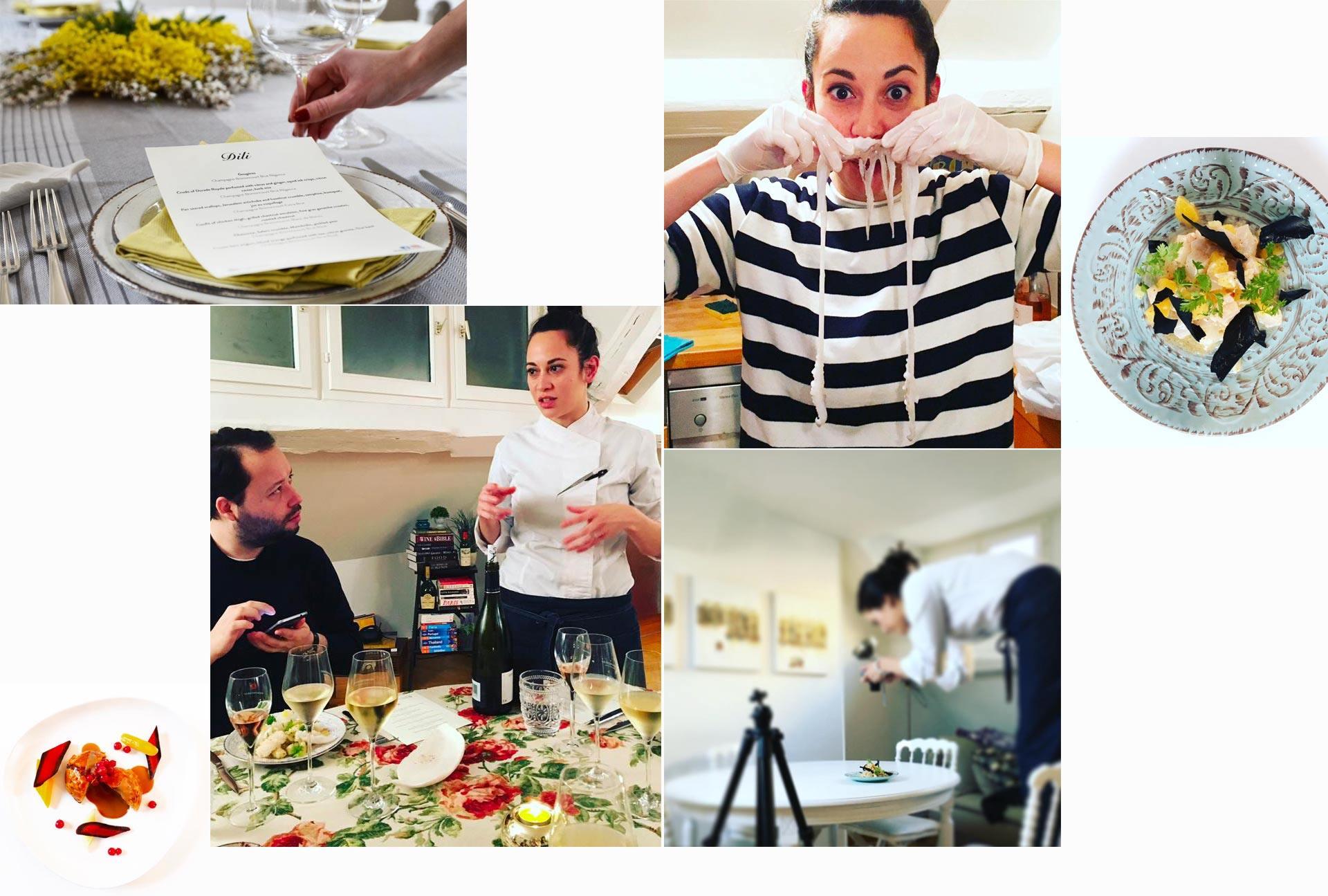 Lizzie Kwee Cuisine Diploma alumna