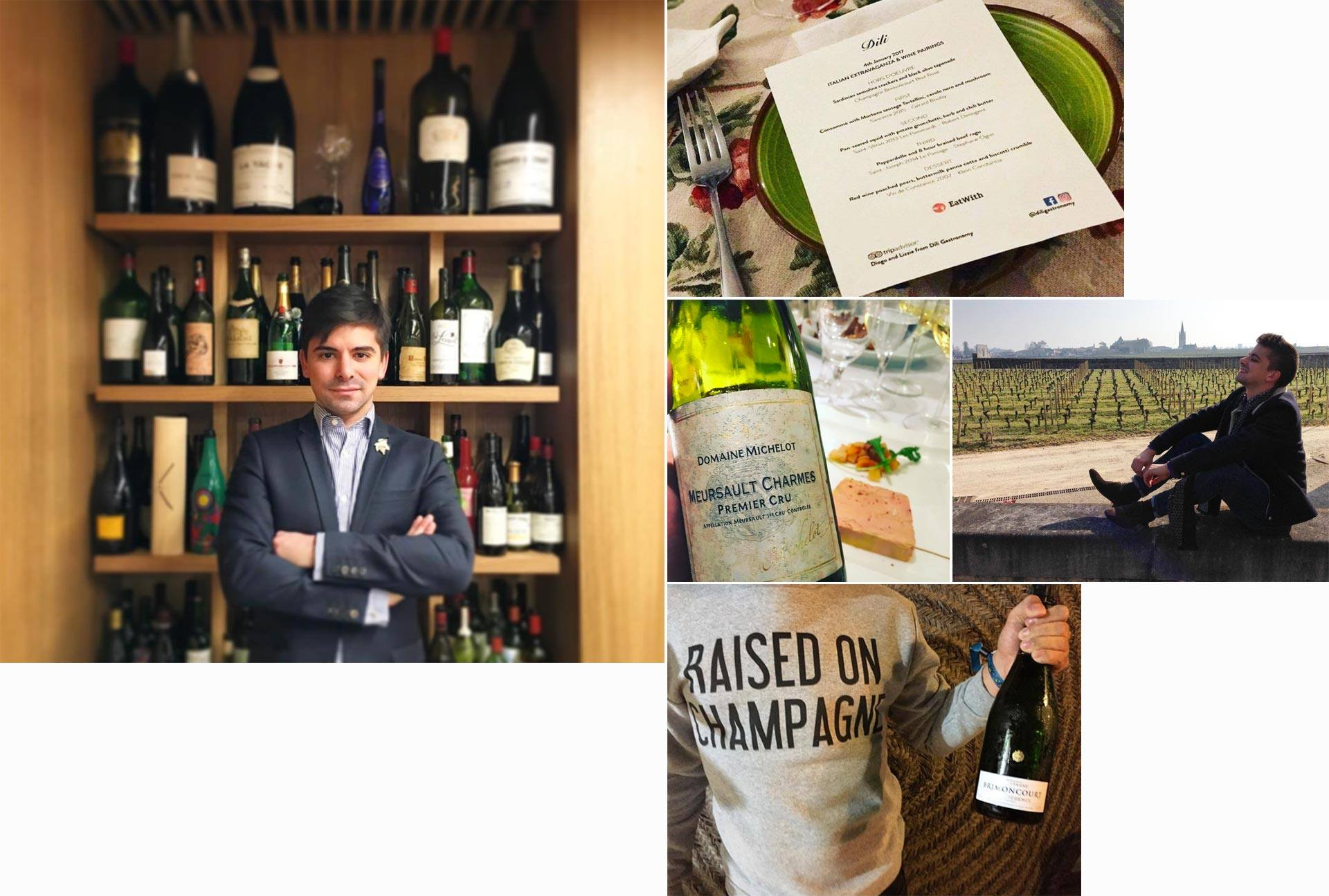 Diogo Veiga Wine and Management Diploma alumni