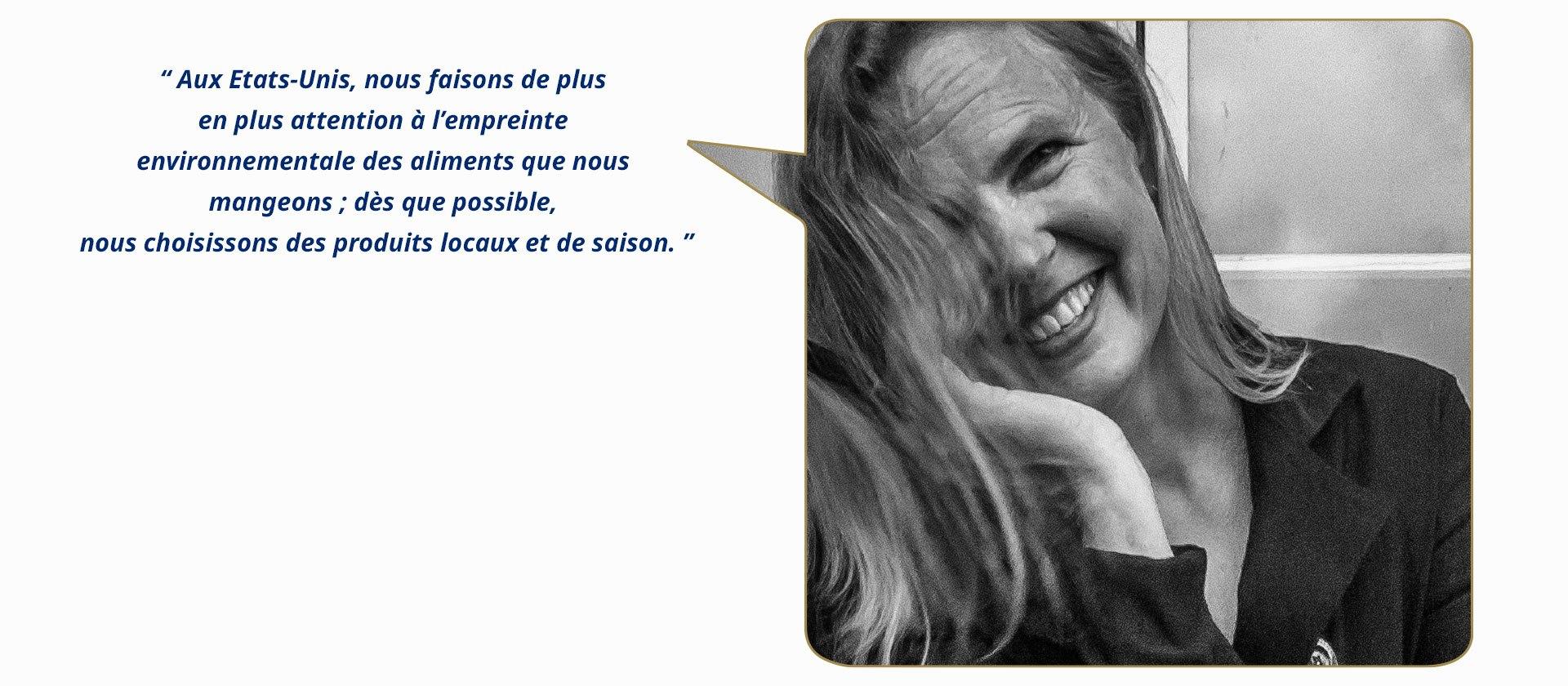 Susi Seguret (Etats-Unis), chef privée, directrice d'une école culinaire, photographe et dégustatrice de vin