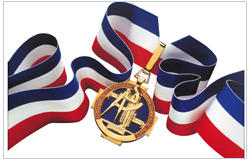 The Best Craftsman of France (MOF) Medal