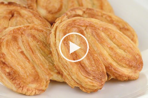 pastry technique: puff pastry