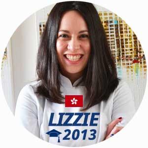 Lizzie Kwee diplome cuisine 2013