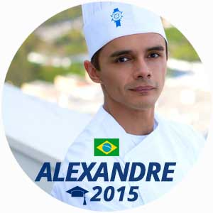 Alexandre Da Silva cuisine diploma 2015