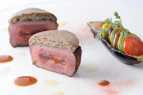 牛フィレ肉のロースト
