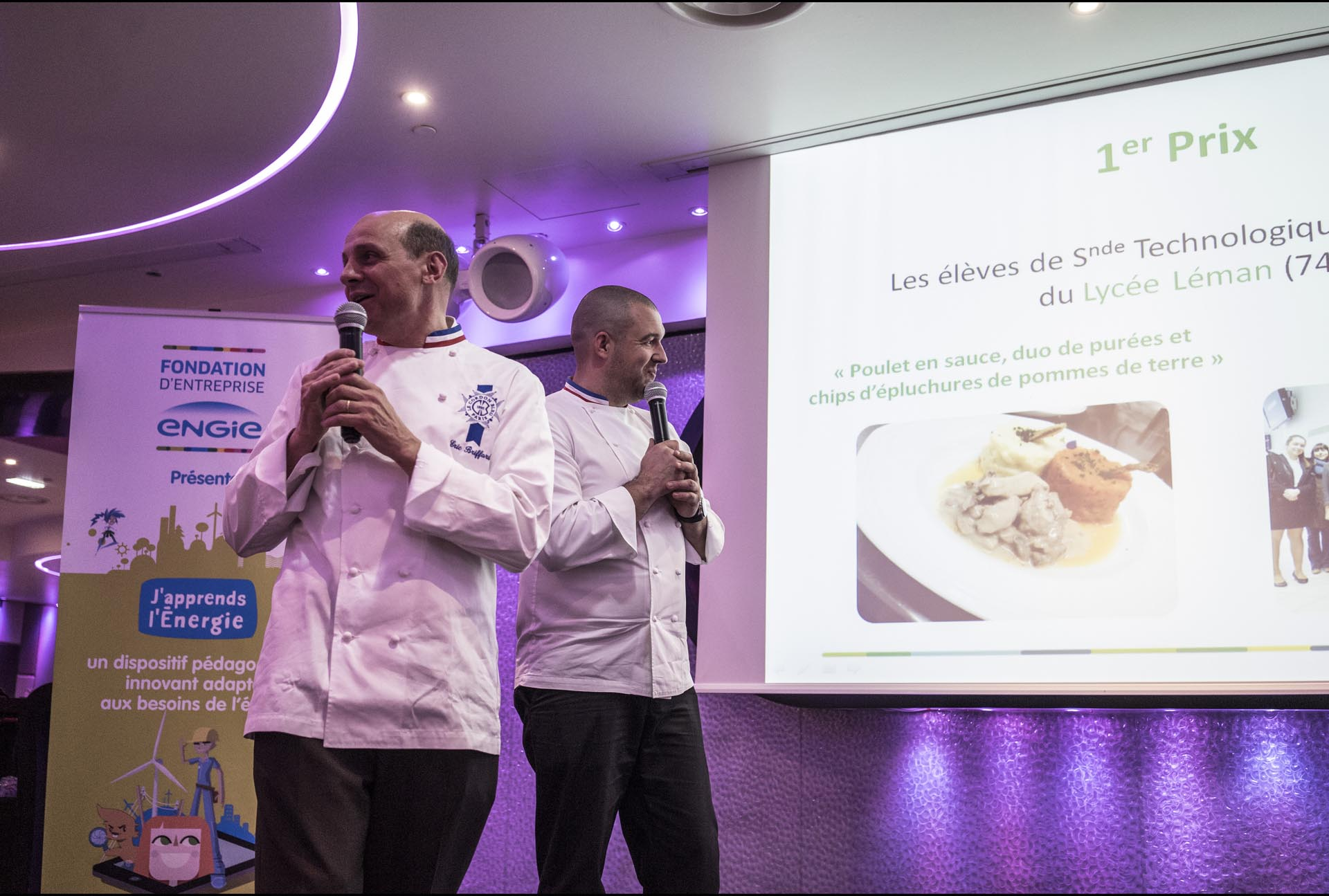 Eric Briffard et Guillaume Gomez Une Toque à La Cantoche ENGIE