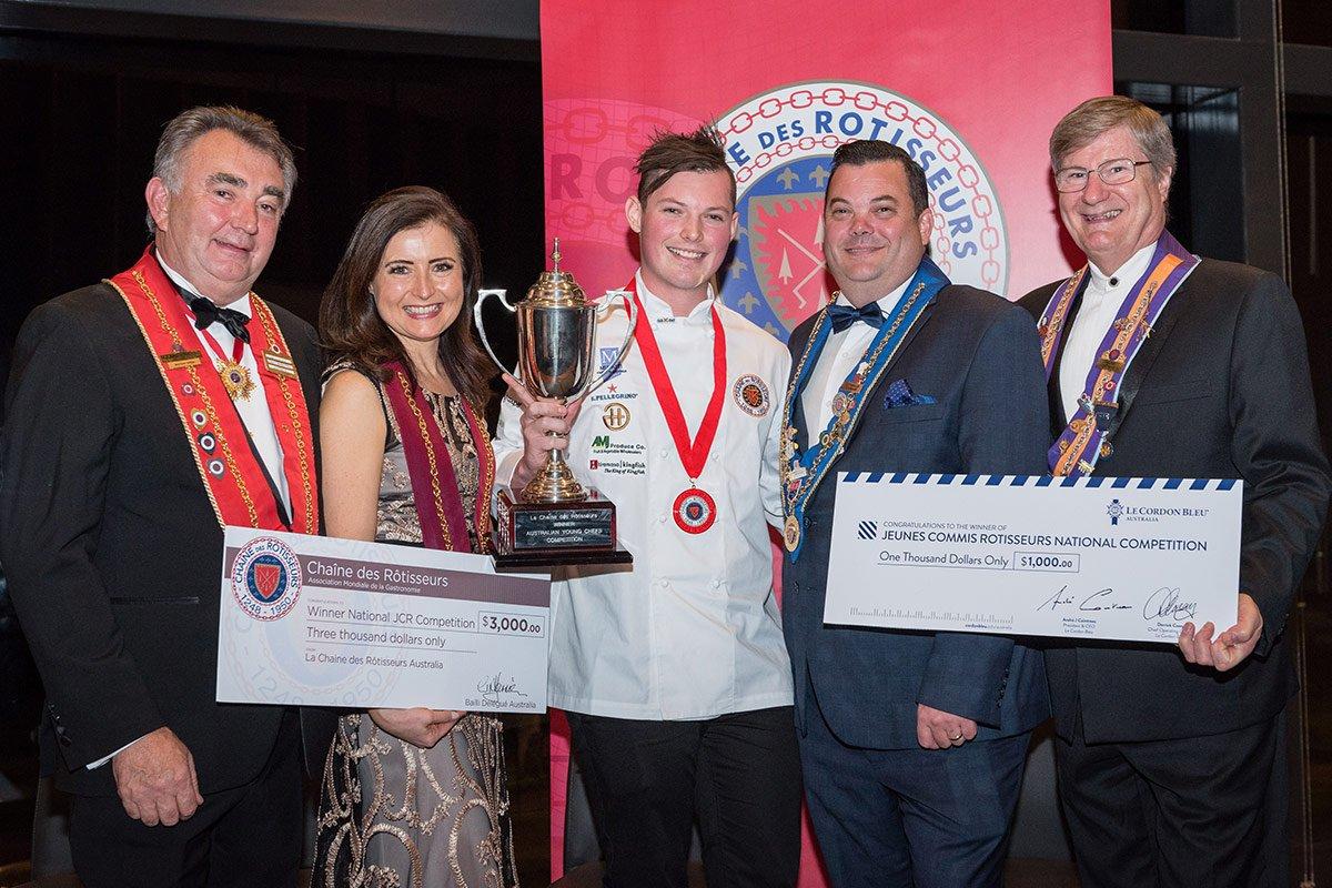 Jeunes Chefs Rôtisseurs Competition 2017