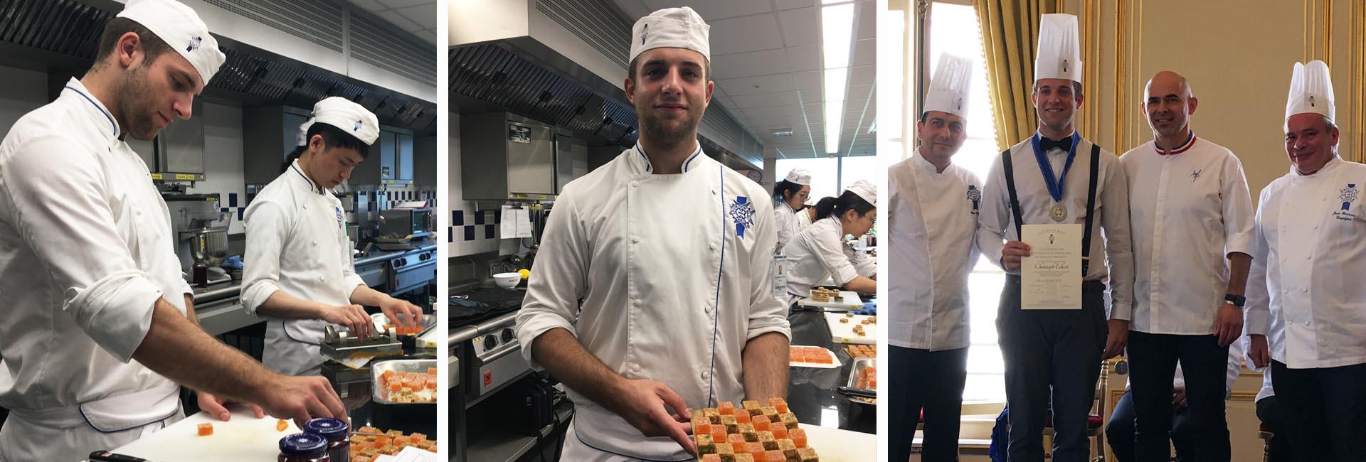 Christoph Eckert étudiant pâtisserie Le Cordon Bleu Paris