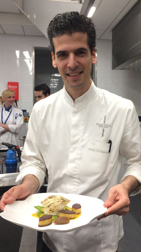 Philip Chronopoulos, chef restaurant palais royal