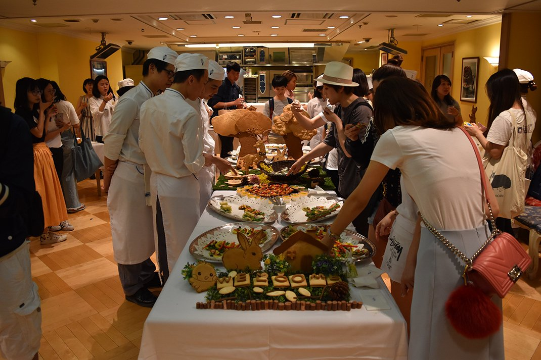 Bakery Diploma Pain Buffet Event