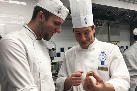 Christoph Eckert Jeune Chef Rôtisseur cuisine contest