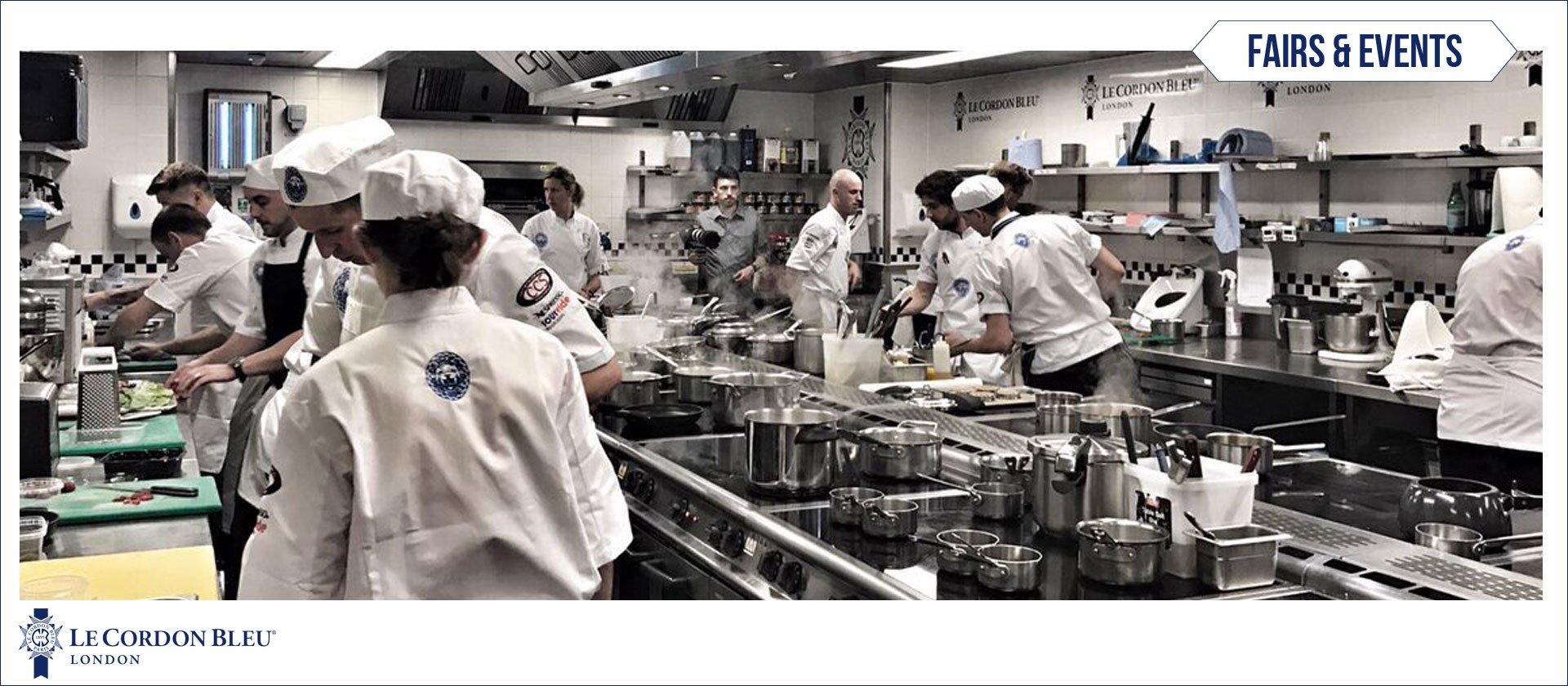Le Cordon Bleu host National Chef of the Year Semi-Final 2017