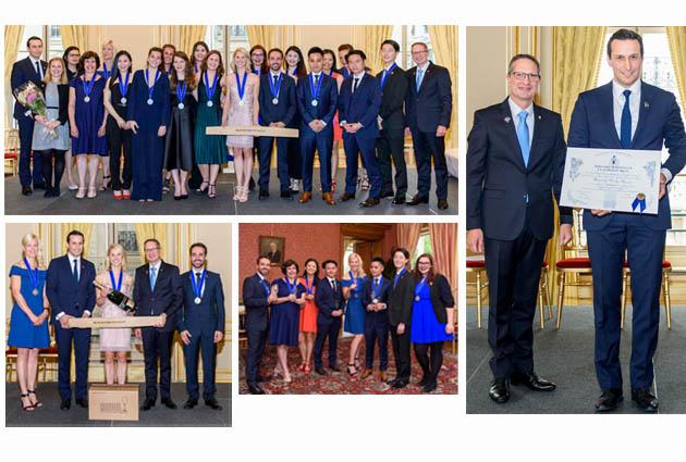étudiants Programme Métiers Vin Management diplômés Le Cordon Bleu Paris Xavier Thuizat