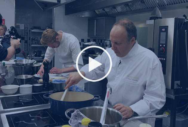 Alain Solivérès head cuisine chef Le Taillevent Paris