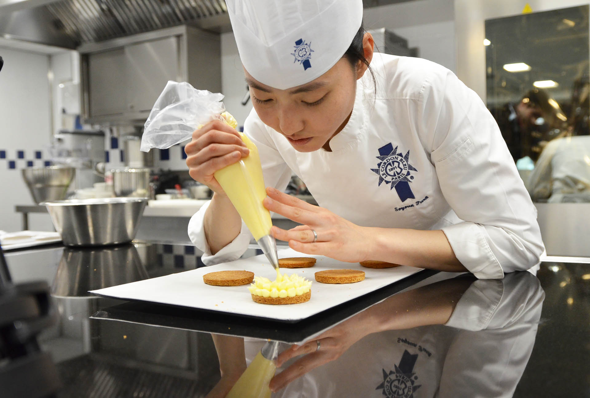Chef Soyoun Park, pastry chef