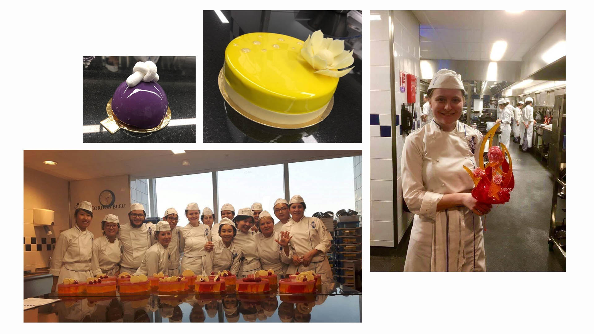 Scarlett Tyrell Diplome de Pâtisserie 2017