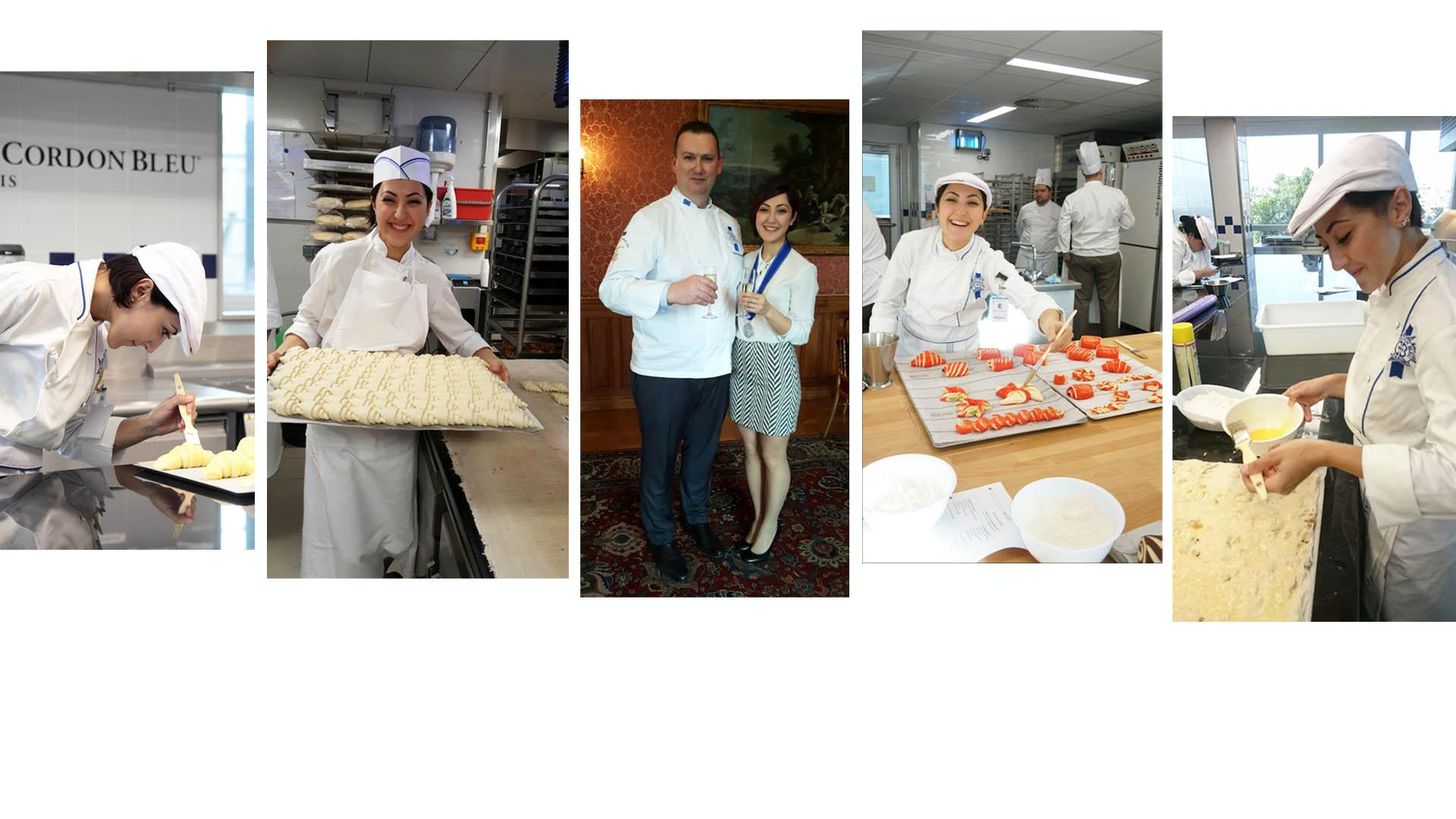 Merve Armagan Diplome de Boulangerie 2017