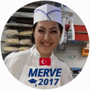 Merve Armagan diplome boulangerie 2017