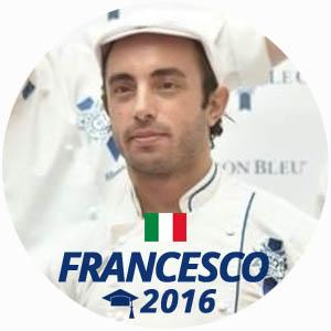 Francesco Giraldi diplome boulangerie 2016