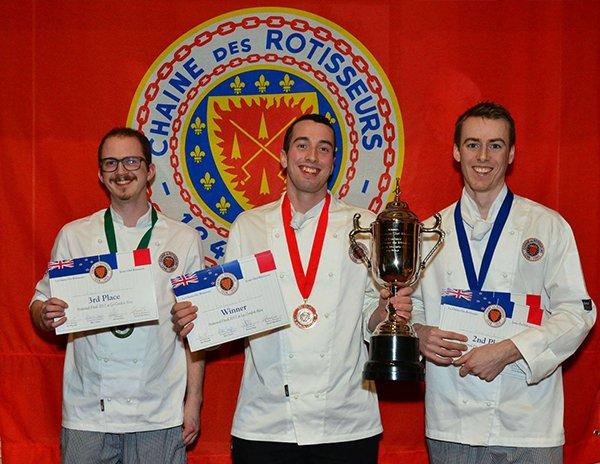 Concours National des Jeunes Chefs Rôtisseurs Competition