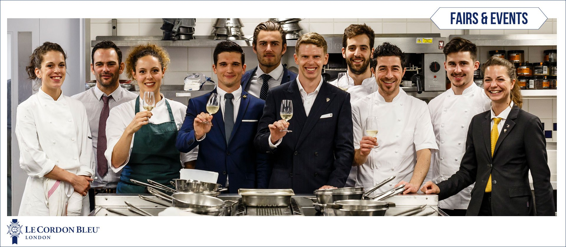 Gosset Matchmakers Competition at Le Cordon Bleu London