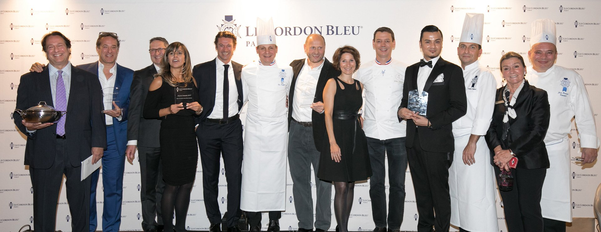 Alumni Gala: Le Cordon Bleu Paris honours its alumni and celebrates their success during the 2017 Alumni Awards