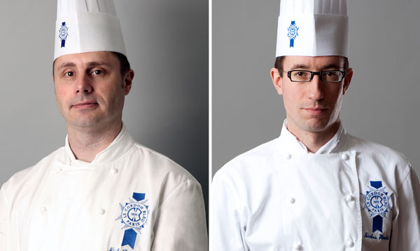chefs nick patterson and nicolas houchet