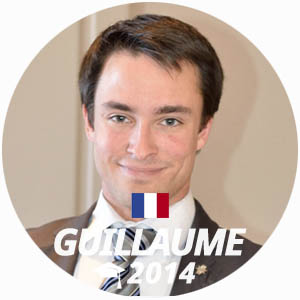 Guillaume Gondinet wine and management diploma graduate 2014