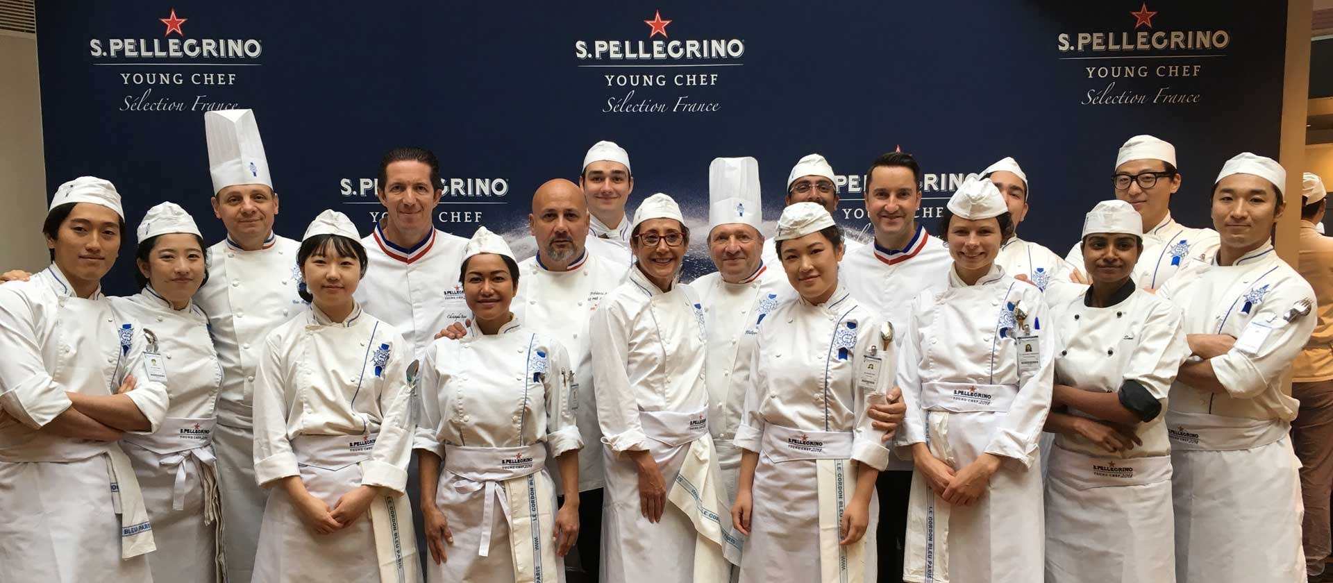 Antonio Buono wins the French final of the S.PELLEGRINO® YOUNG CHEF 2018 competition at Le Cordon Bleu Paris institute
