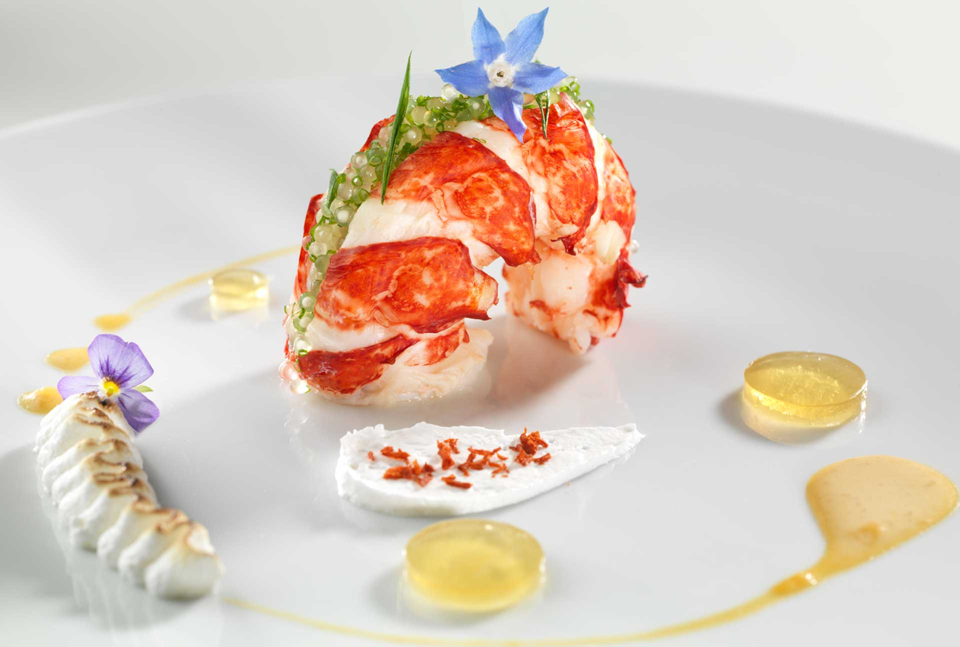 recipe Lobster trio and tapioca pearls