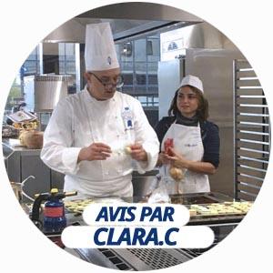 avis atelier patisserie par Clara Ciurana