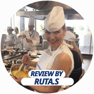 pastry workshop review by Ruta Siliute