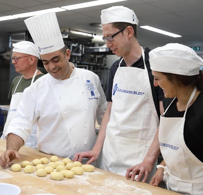 Vincent Somoza, chef boulanger