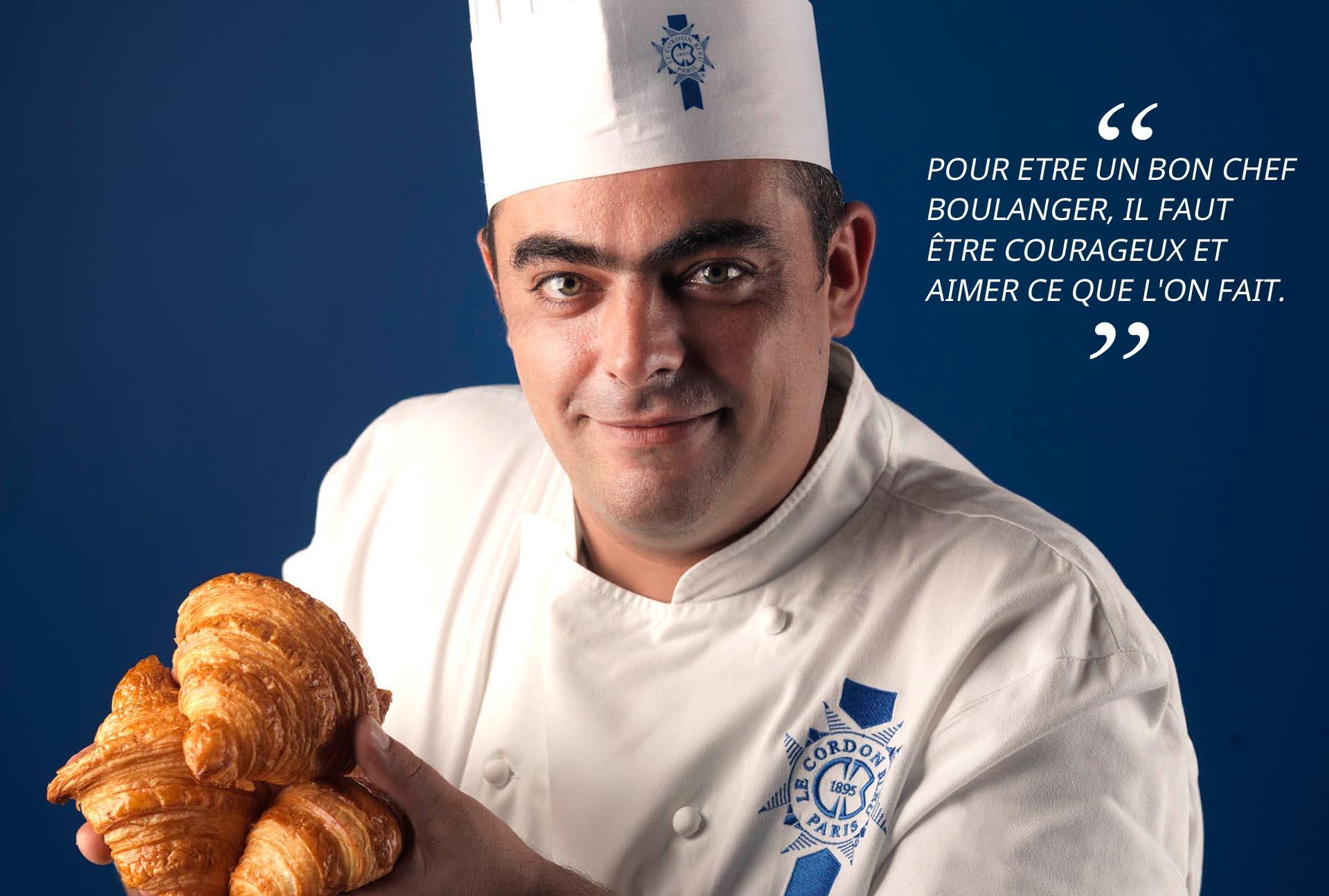 Chef de boulangerie Vincent Somoza