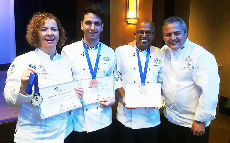 Le Cordon Bleu award winning pâtisserie chef lecturers
