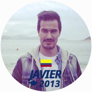 Javier Lopez diplome cuisine 2013