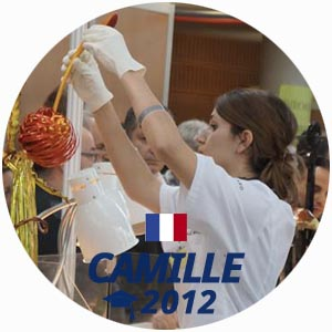 Camille Mansouri diplome pâtisserie 2012