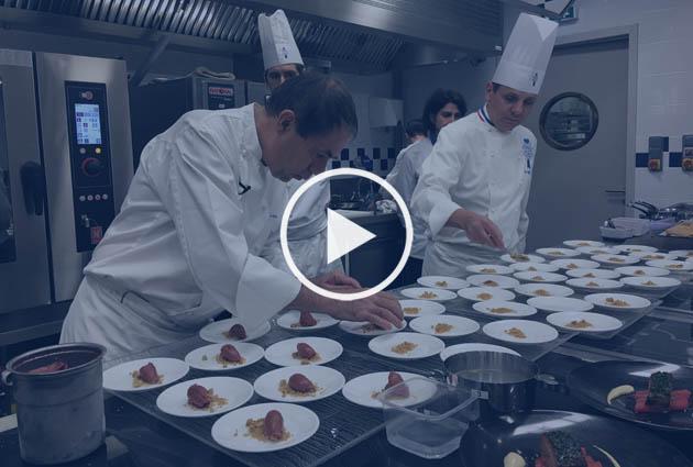 Philippe Labbé chef invité cuisinier La Tour d'Argent Paris