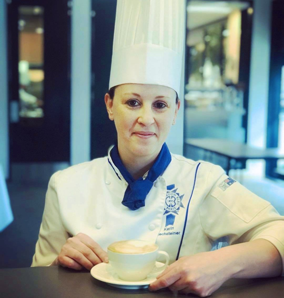 Head Lecturer Karin Rechsteiner in 2020 Culinary Olympics