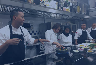 chef cuisinier indonésie Degan Septoadji