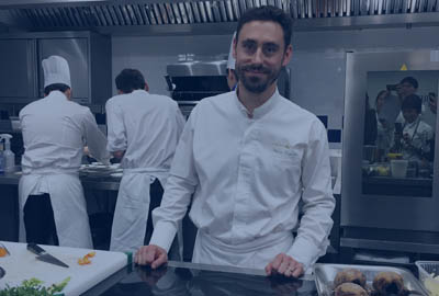 cuisinie chef Pierre Rigothier La Scène Thélème