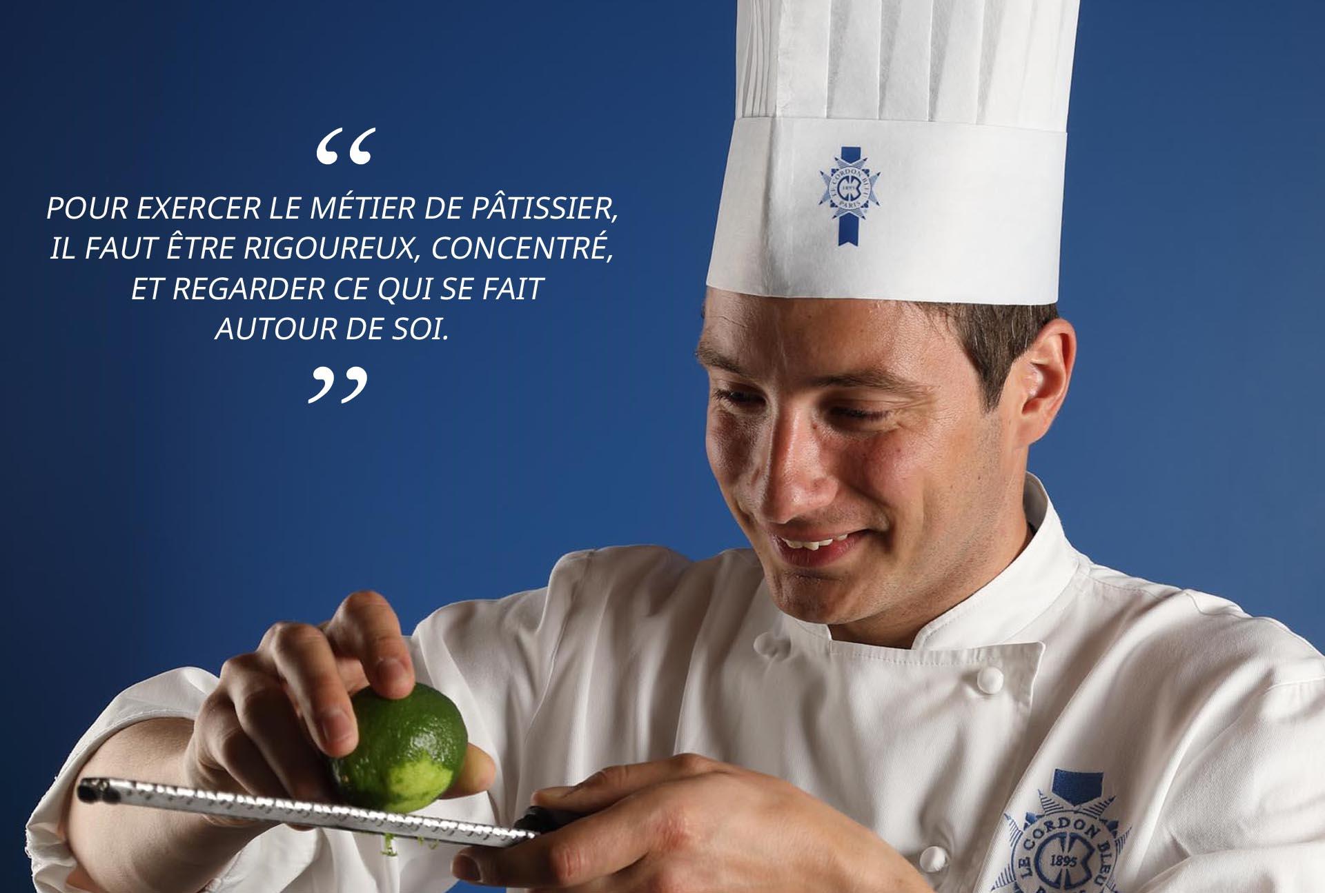 Chef de pâtisserie Vincent Valton*