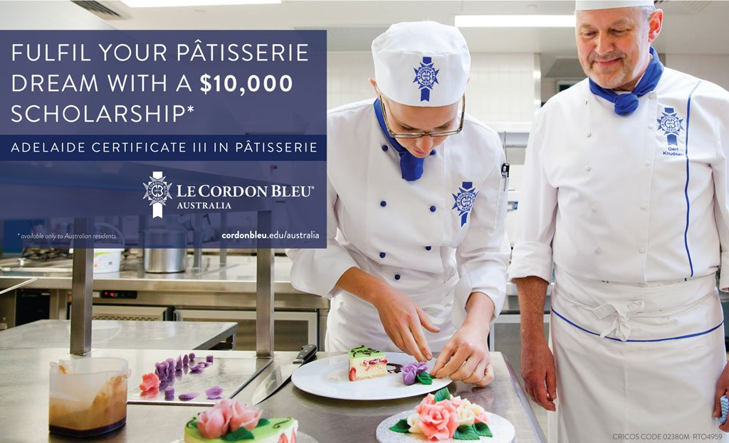 Promtional image of Patissir Student and Chef.