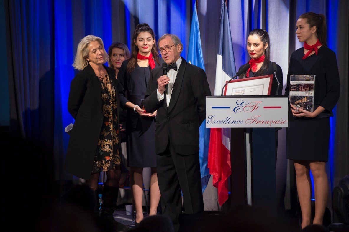 Le Cordon Bleu honoured at annual Excellence Française