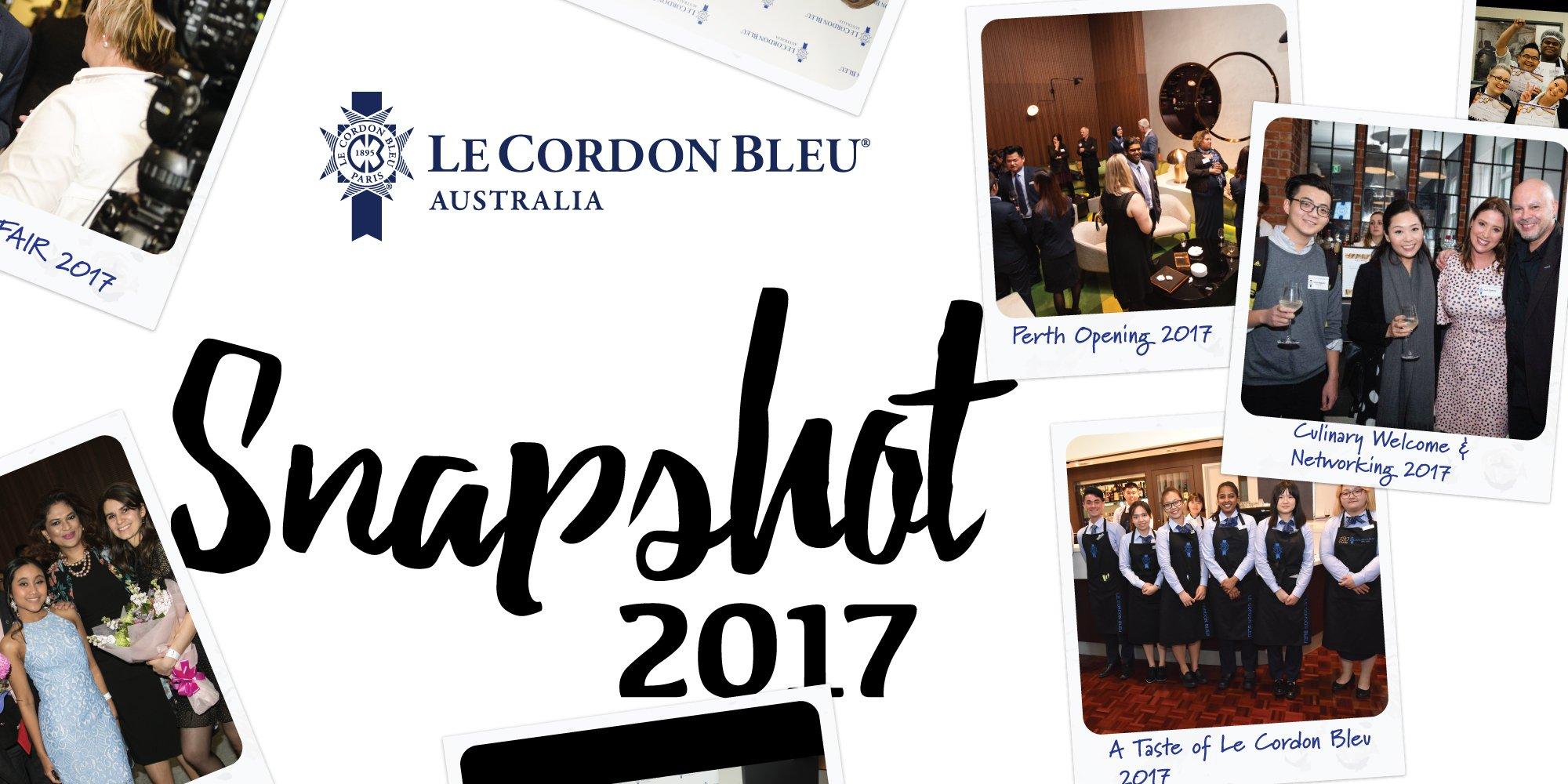 Le Cordon Bleu Australia: A snapshot of 2017
