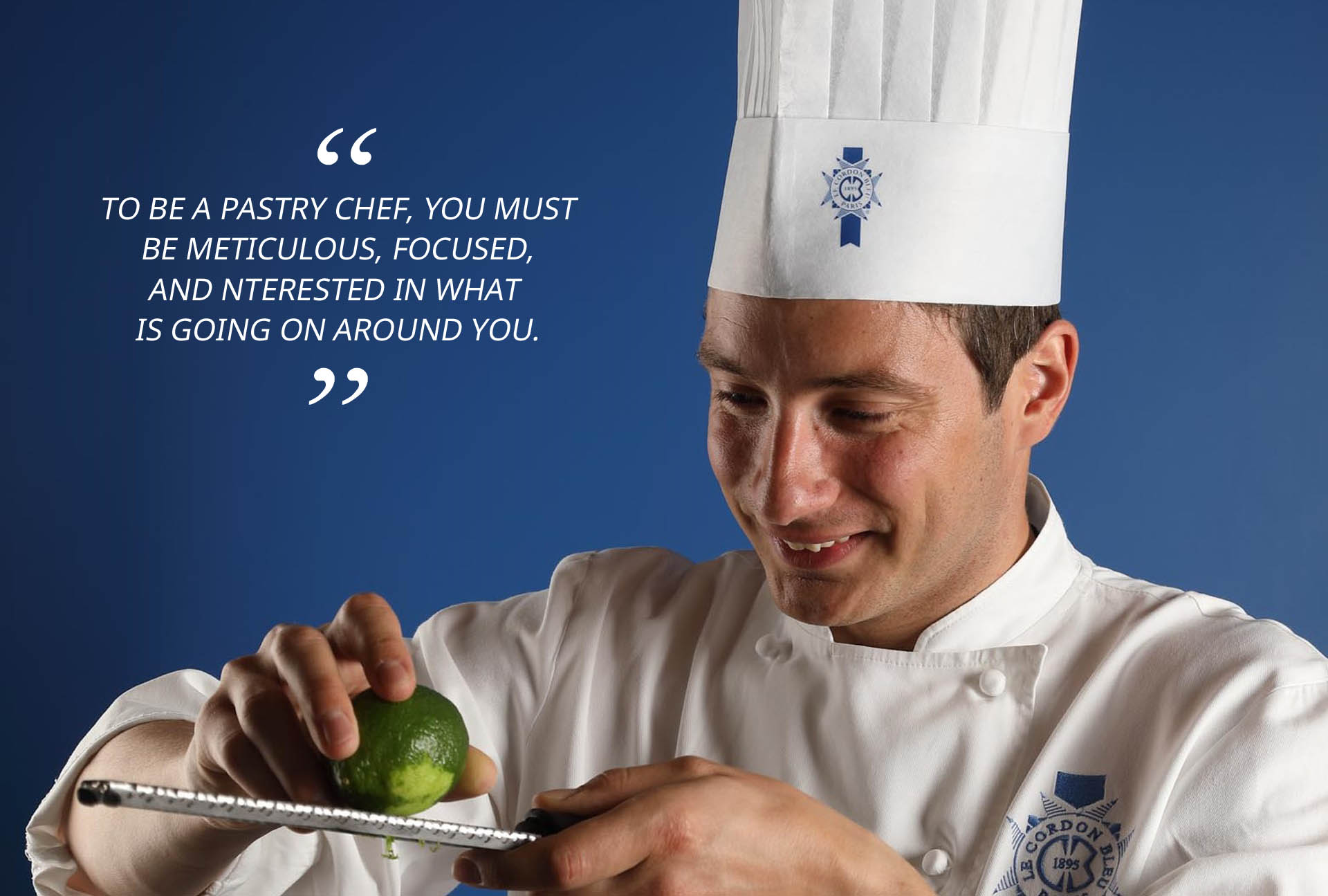 Pastry Chef Vincent Valton